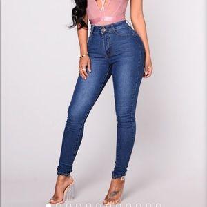 NWT fashionnova first pick high rise jeans